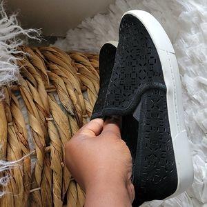 JOIE black slipon sneakers